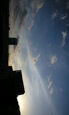 今日の夕空☆