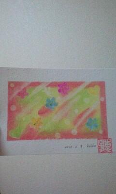 パステル和アート☆花の舞☆