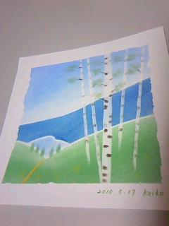 パステル和アートインストラクター講座☆20100517